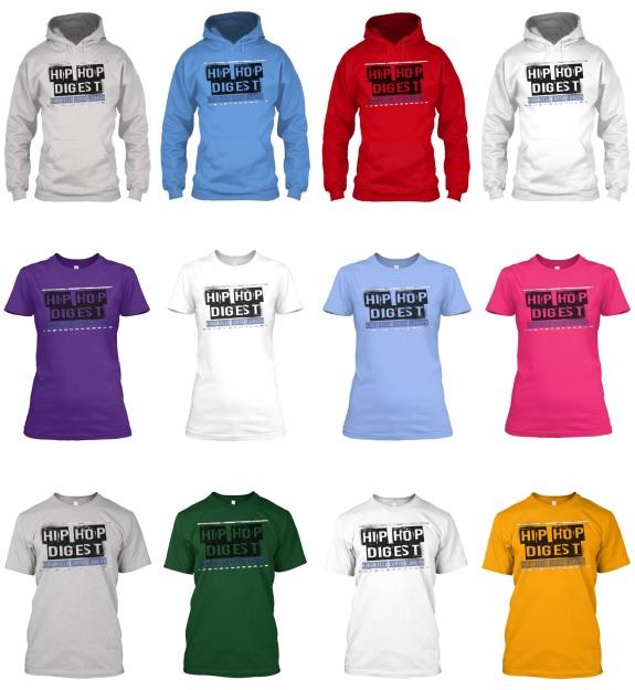 Hip-Hop Digest Hoodies & Tee's Campaign