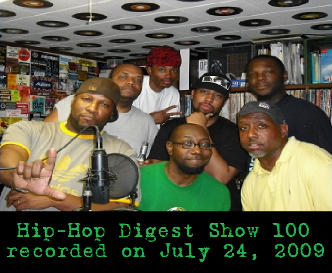 Hip-Hop Digest Show 100 (Backspin)