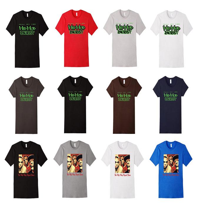 Hip-Hop Digest Show T-Shirts
