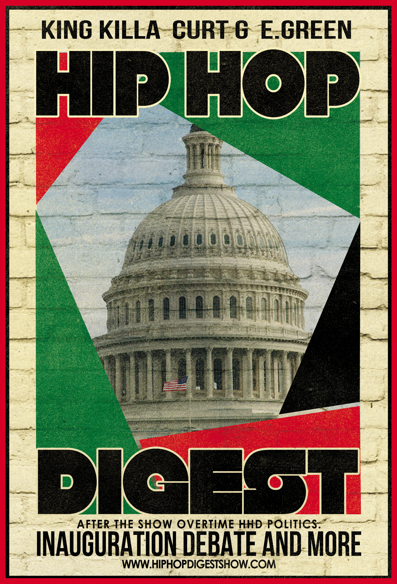 Hip-Hop Digest Show - Inauguration Debate