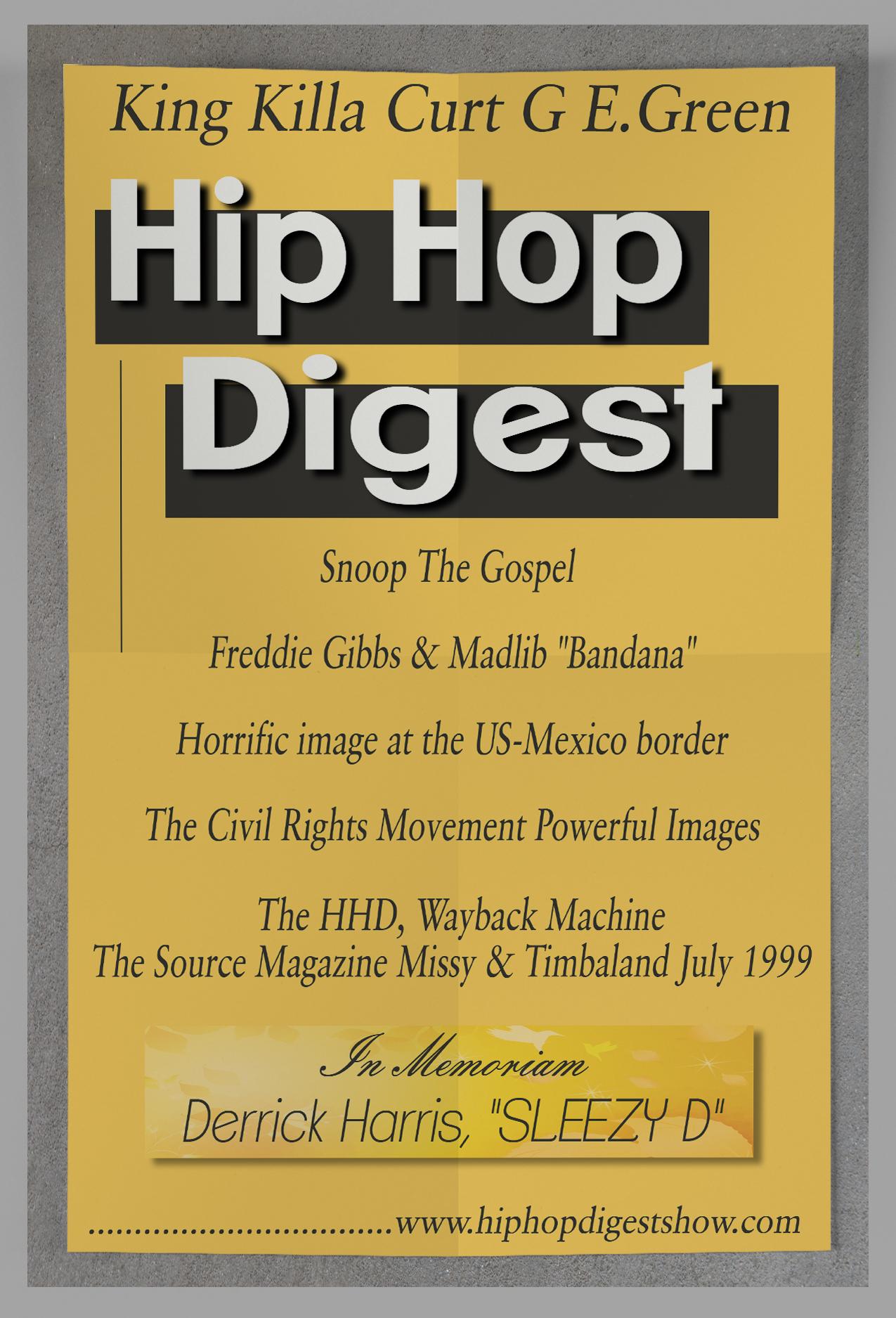 Hip-Hop Digest Show 545 – Picture me this… | Hip-Hop Digest Show